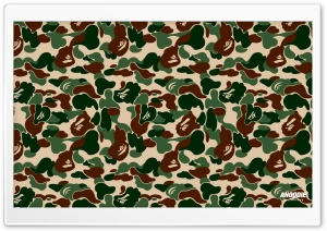 Bape Camo HD Wide Wallpaper for 4K UHD Widescreen desktop & smartphone