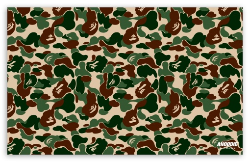 Download Bape Camo HD Wallpaper