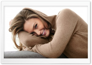Bar Refaeli Smile Ultra HD Wallpaper for 4K UHD Widescreen desktop, tablet & smartphone