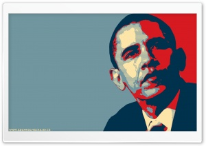 Barack Obama HD Wide Wallpaper for Widescreen