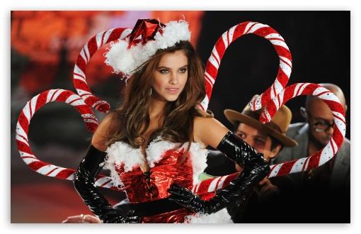 Sexy christmas desktop