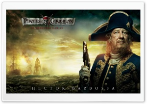 Barbossa - 2011 Pirates Of The Caribbean On Stranger Tides HD Wide Wallpaper for Widescreen