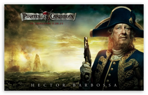 Barbossa - 2011 Pirates Of The Caribbean On Stranger Tides HD wallpaper for Wide 16:10 5:3 Widescreen WHXGA WQXGA WUXGA WXGA WGA ; HD 16:9 High Definition WQHD QWXGA 1080p 900p 720p QHD nHD ; Standard 4:3 3:2 Fullscreen UXGA XGA SVGA DVGA HVGA HQVGA devices ( Apple PowerBook G4 iPhone 4 3G 3GS iPod Touch ) ; iPad 1/2/Mini ; Mobile 4:3 5:3 3:2 - UXGA XGA SVGA WGA DVGA HVGA HQVGA devices ( Apple PowerBook G4 iPhone 4 3G 3GS iPod Touch ) ;