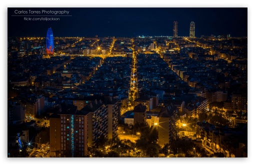Barcelona At Night ❤ 4K UHD Wallpaper for Wide 16:10 5:3 Widescreen WHXGA WQXGA WUXGA WXGA WGA ; 4K UHD 16:9 Ultra High Definition 2160p 1440p 1080p 900p 720p ; UHD 16:9 2160p 1440p 1080p 900p 720p ; Standard 3:2 Fullscreen DVGA HVGA HQVGA ( Apple PowerBook G4 iPhone 4 3G 3GS iPod Touch ) ; Mobile 5:3 3:2 16:9 - WGA DVGA HVGA HQVGA ( Apple PowerBook G4 iPhone 4 3G 3GS iPod Touch ) 2160p 1440p 1080p 900p 720p ;