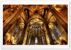 Barcelona Cathedral HD Wide Wallpaper for Widescreen