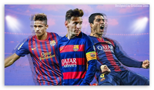 Barcelona Trio - Messi, Suarez and Neymar ❤ 4K UHD Wallpaper for 4K UHD 16:9 Ultra High Definition 2160p 1440p 1080p 900p 720p ; Mobile 16:9 - 2160p 1440p 1080p 900p 720p ;