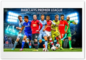 Barclays Premier League 2014-2015 HD Wide Wallpaper for 4K UHD Widescreen desktop & smartphone