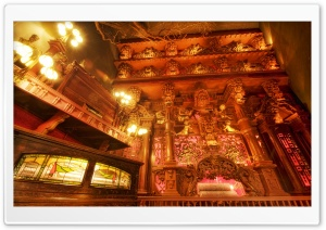 Baroque Room, House On The Rock HD Wide Wallpaper for Widescreen