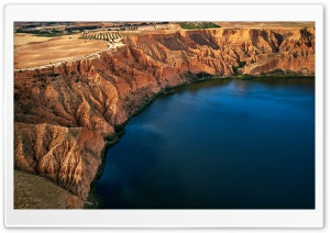 Barrancas de Burujon, Toledo, Spain HD Wide Wallpaper for 4K UHD Widescreen desktop & smartphone