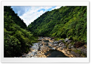 Barron Gorge River, Cairns, Australia HD Wide Wallpaper for Widescreen