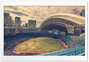 Baseball Stadium Ultra HD Wallpaper for 4K UHD Widescreen desktop, tablet & smartphone