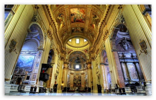 Basilica Sant Andrea della Valle ❤ 4K UHD Wallpaper for Wide 16:10 5:3 Widescreen WHXGA WQXGA WUXGA WXGA WGA ; 4K UHD 16:9 Ultra High Definition 2160p 1440p 1080p 900p 720p ; UHD 16:9 2160p 1440p 1080p 900p 720p ; Standard 3:2 Fullscreen DVGA HVGA HQVGA ( Apple PowerBook G4 iPhone 4 3G 3GS iPod Touch ) ; Mobile 5:3 3:2 16:9 - WGA DVGA HVGA HQVGA ( Apple PowerBook G4 iPhone 4 3G 3GS iPod Touch ) 2160p 1440p 1080p 900p 720p ;