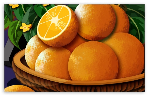 Basket Of Oranges HD wallpaper for Wide 16:10 5:3 Widescreen WHXGA WQXGA WUXGA WXGA WGA ; HD 16:9 High Definition WQHD QWXGA 1080p 900p 720p QHD nHD ; Standard 3:2 Fullscreen DVGA HVGA HQVGA devices ( Apple PowerBook G4 iPhone 4 3G 3GS iPod Touch ) ; Mobile 5:3 3:2 16:9 - WGA DVGA HVGA HQVGA devices ( Apple PowerBook G4 iPhone 4 3G 3GS iPod Touch ) WQHD QWXGA 1080p 900p 720p QHD nHD ;