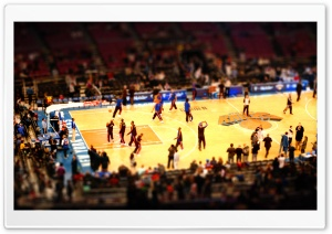 Basketball Game HD Wide Wallpaper for Widescreen