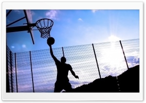 Basketball Player HD Wide Wallpaper for Widescreen