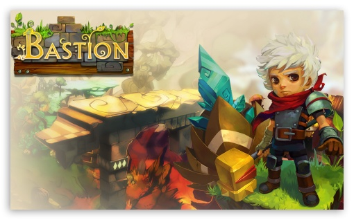 Bastion HD wallpaper for Wide 5:3 Widescreen WGA ; HD 16:9 High Definition WQHD QWXGA 1080p 900p 720p QHD nHD ; Mobile 5:3 16:9 - WGA WQHD QWXGA 1080p 900p 720p QHD nHD ;