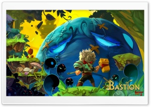 Bastion - The Kid HD Wide Wallpaper for 4K UHD Widescreen desktop & smartphone