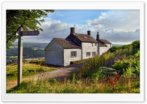Bath House On Ilkley Moor Ultra HD Wallpaper for 4K UHD Widescreen desktop, tablet & smartphone