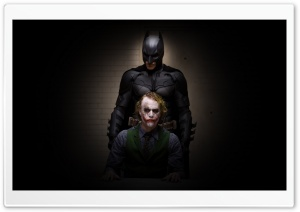 Batman And Joker HD Wide Wallpaper for Widescreen
