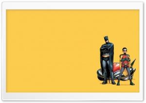 Batman And Robin Cartoon HD Wide Wallpaper for 4K UHD Widescreen desktop & smartphone
