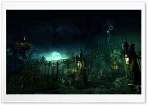 Batman Arkham Asylum HD Wide Wallpaper for Widescreen