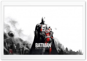 Batman Arkham City - Batman & Harley HD Wide Wallpaper for Widescreen