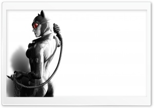 Batman Arkham City - Catwoman HD Wide Wallpaper for Widescreen