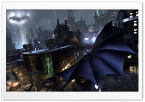 Batman Arkham City Game HD Wide Wallpaper for Widescreen