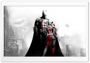 Batman Arkham City Harley Quinn HD Wide Wallpaper for 4K UHD Widescreen desktop & smartphone
