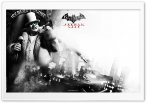 Batman Arkham City The Penguin HD Wide Wallpaper for Widescreen