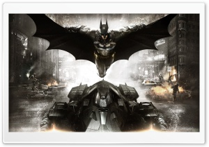 Batman Arkham Knight HD Wide Wallpaper for Widescreen