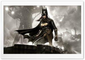 Batman Arkham Knight Batgirl HD Wide Wallpaper for Widescreen