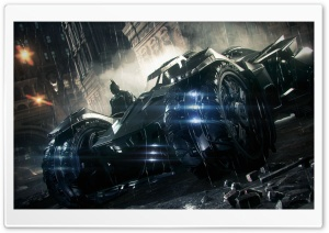 Batman Arkham Knight Batmobile 2014 HD Wide Wallpaper for 4K UHD Widescreen desktop & smartphone