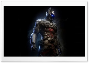 Batman Arkham Knight Batsuit HD Wide Wallpaper for Widescreen