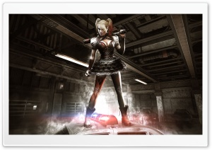 Batman Arkham Knight Harley Quinn HD Wide Wallpaper for Widescreen