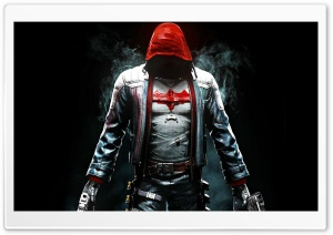 Batman Arkham Knight Red Hood HD Wide Wallpaper for Widescreen