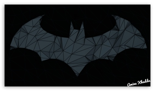 Batman Arkham Origins Low Poly Logo 2 ❤ 4K UHD Wallpaper for 4K UHD 16:9 Ultra High Definition 2160p 1440p 1080p 900p 720p ; Mobile 16:9 - 2160p 1440p 1080p 900p 720p ;