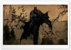 Batman Drawing Ultra HD Wallpaper for 4K UHD Widescreen desktop, tablet & smartphone
