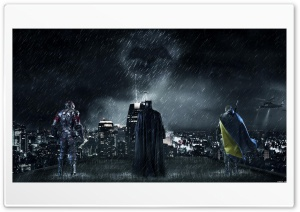 Batman Gotham City HD Wide Wallpaper for 4K UHD Widescreen desktop & smartphone
