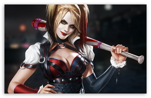 Batman Harley Quinn 4k Hd Desktop Wallpaper For 4k Ultra