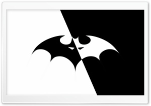 Batman Logo HD Wide Wallpaper for 4K UHD Widescreen desktop & smartphone