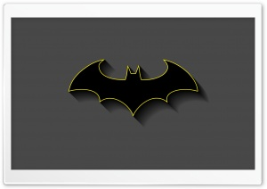 Batman Minimalist HD Wide Wallpaper for Widescreen