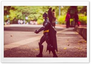 Batman on Road HD Wide Wallpaper for 4K UHD Widescreen desktop & smartphone