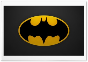 Batman Sign HD Wide Wallpaper for 4K UHD Widescreen desktop & smartphone
