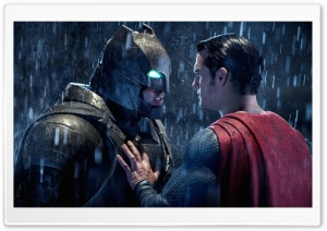 Batman Superman Face Off HD Wide Wallpaper for Widescreen