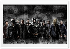 Batman The Dark Knight Rises HD Wide Wallpaper for Widescreen