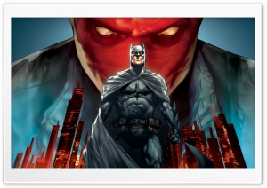 Batman Under The Red Hood HD Wide Wallpaper for Widescreen
