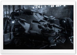 Batman V Superman Batmobile HD Wide Wallpaper for 4K UHD Widescreen desktop & smartphone
