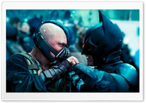 Batman vs Bane HD Wide Wallpaper for Widescreen