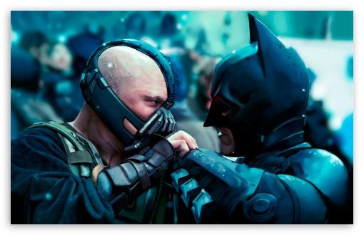 Download Batman vs Bane UltraHD Wallpaper